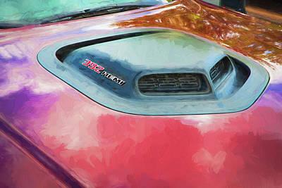 Photograph - 2018 Dodge Challenger 392 Hemi Scat Pack Shaker Rt 006 by Rich Franco