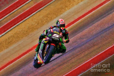 Photograph - 2018 Motogp Johann Zarco Middle Of The Art by Blake Richards