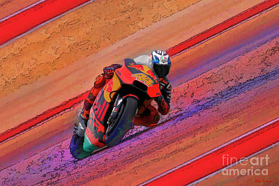 Photograph - 2018 Motogp Pol Espargaro Middle Of The Art by Blake Richards