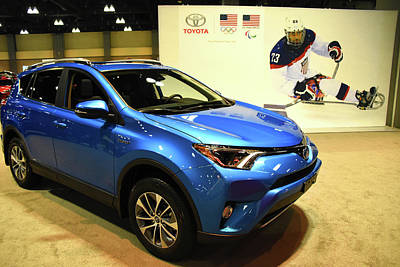 Photograph - 2018 Toyota Rav4 Xle by Mike Martin