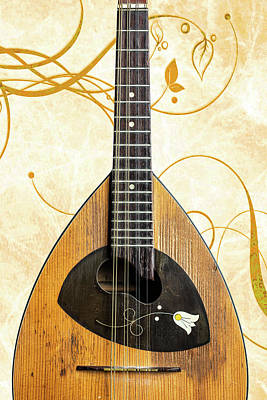 Photograph - 20.1845 Framus Mandolin by M K  Miller