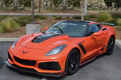 Photograph - 2019 Corvette Zr-1 by Bill Dutting