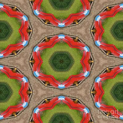 Kaleidoscopic Ornaments Art Print