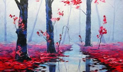 Bob Painting - Nature Landscape Pictures by Margaret J Rocha