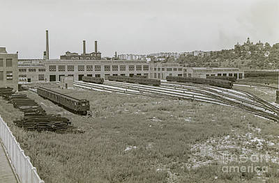 207th Street Railyards Art Print