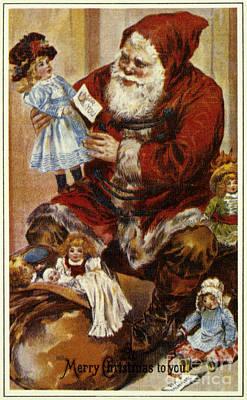 American Christmas Card Art Print by Granger