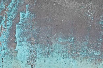 Blue Metal Art Print by Tom Gowanlock