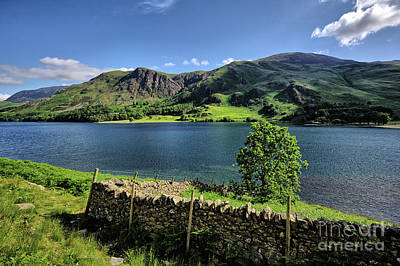 Lake District Wall Art - Photograph - Buttermere by Smart Aviation