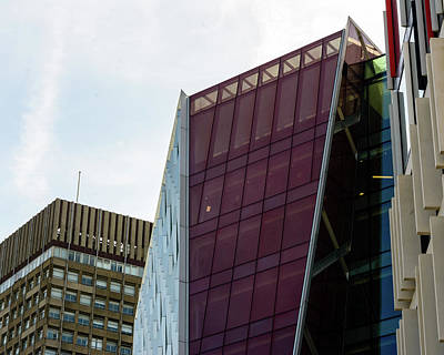 Photograph - 21 Century Multi Storey Building A by Jacek Wojnarowski