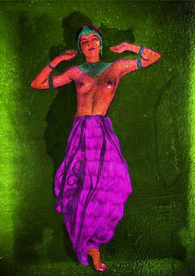 Nude Woman Art Print