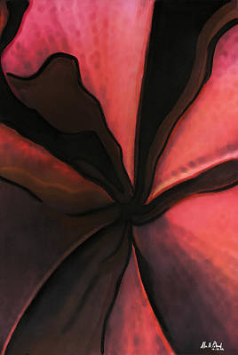 Georgetown Mixed Media - #21 Petals by Alison Poland
