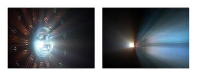 Photograph - 21 Shineonucrazydiamond Diptych 21 by David Hargreaves