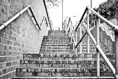 Stone Steps Art Print