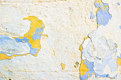 Stone Wall Art Print by Tom Gowanlock