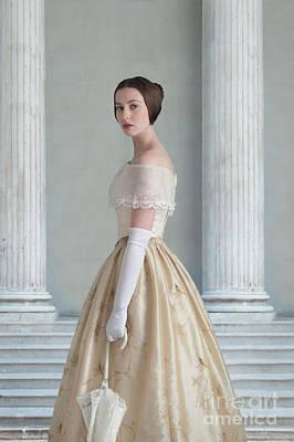 Photograph - Victorian Woman by Lee Avison