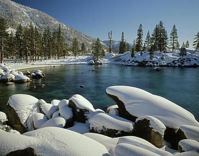 Photograph - 211256 San Harbor Lake Tahoe Nevada by Ed Cooper Photography