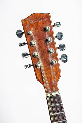 Photograph - 21.1845 Framus Mandolin by M K  Miller