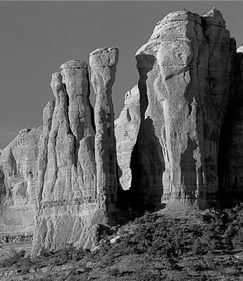 Photograph - 213538 The Mace In Cathedral Rock Group by Ed Cooper Photography