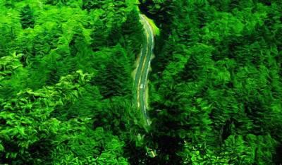 Ocean Painting - Nature Art Landscape by Margaret J Rocha