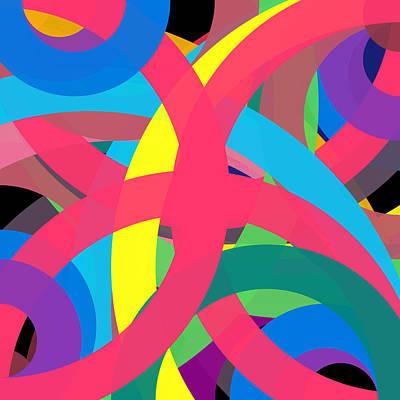 Drawing - 2178309 - Phi Word Circle by REVAD David Riley