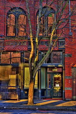 Photograph - 219 Washington Street by David Patterson
