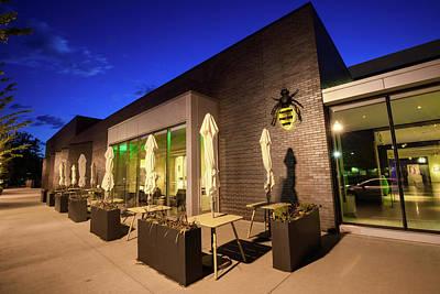 Photograph - 21c Museum Hotel At Dusk - Bentonville Arkansas by Gregory Ballos