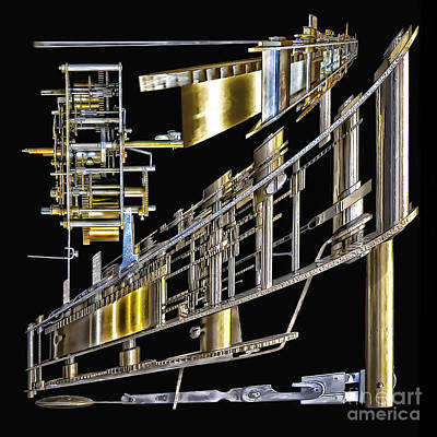 21st Century Erector Set ? Art Print by Walt Foegelle