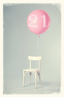 21th Birthday Art Print by Edward Fielding