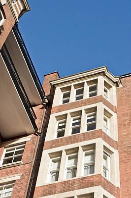 Brick Buildings Photograph - Apartment Building by Tom Gowanlock