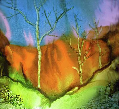 Jazz Art Painting - 22-b Landscape by Jazz Art