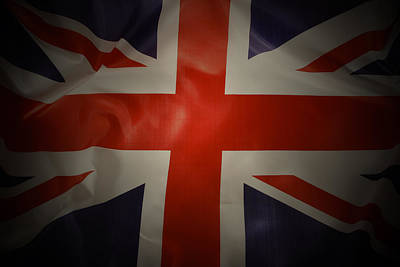 British Flag Art Print by Les Cunliffe