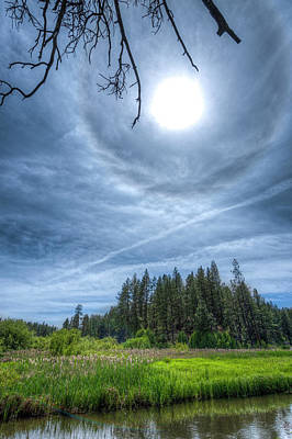Photograph - 22 Degree Halo by Ken Aaron