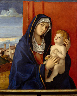 Painting - Madonna And Child by Giovanni Bellini