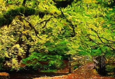Sea Painting - Nature Landscape Nature by Margaret J Rocha