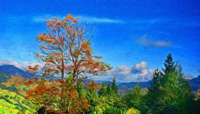 Spring Painting - Nature Landscape Paintings by Margaret J Rocha