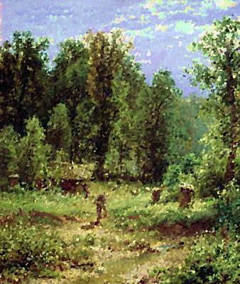 Landscape Painting - Nature Landscape Wall Art by Edna Wallen