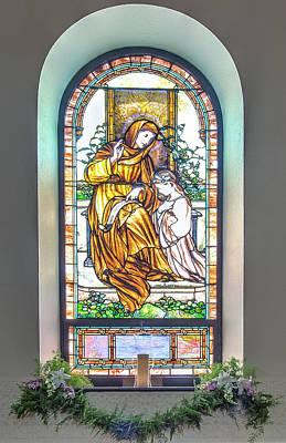 Digital Art - Saint Anne's Windows by Jim Proctor