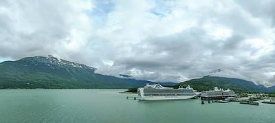 Photograph - Skagway Alaska In June, Usa Northern Town Near Canada by Alex Grichenko