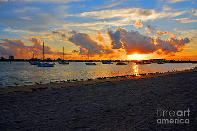 Photograph - 22- Sunset At Seagull Beach by Joseph Keane