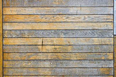 State Love Nancy Ingersoll - Wooden background  by Tom Gowanlock
