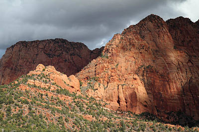 Utah Photograph - Zion National Park In Autumn by Pierre Leclerc Photography