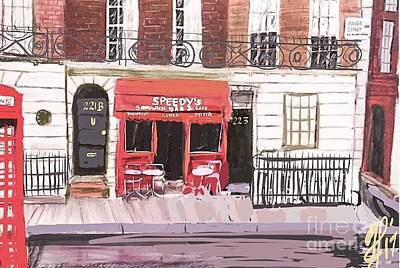 Painting - 221 B Baker Street by Francois Lamothe