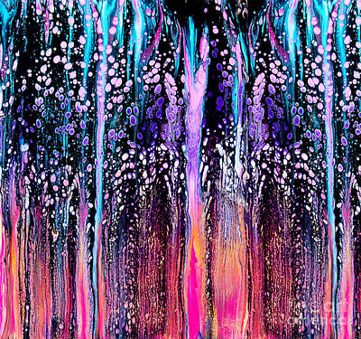Painting - #2262 Fantasy Forest by Expressionistart studio Priscilla Batzell