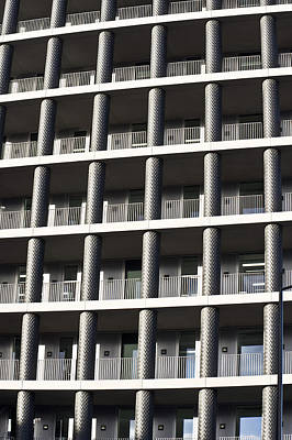 Sector Photograph - Apartment Building by Tom Gowanlock