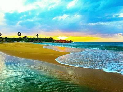 Summer Digital Art - Beach by Super Lovely