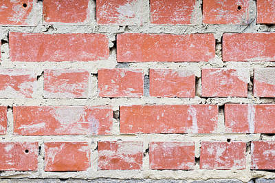Repetition Photograph - Brick Wall by Tom Gowanlock