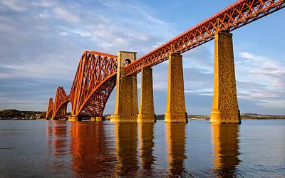 Landmark Digital Art - Bridge by Super Lovely