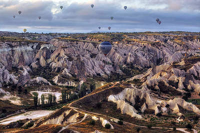 Cappadocia Wall Art - Photograph - Cappadocia - Turkey by Joana Kruse