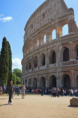 Photograph - Colosseum Tour by JAMART Photography