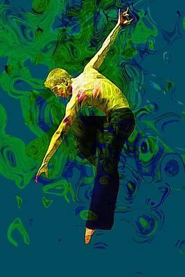 Ballerina Digital Art - Dance by Elena Kosvincheva